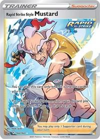 Rapid Strike Style Mustard (Full Art), Pokemon, SWSH05: Battle Styles