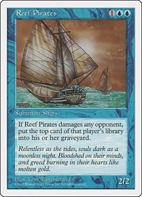 Reef Pirates, Magic: The Gathering, Fifth Edition