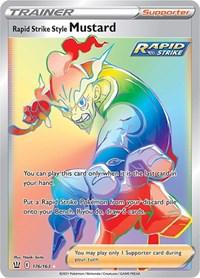Rapid Strike Style Mustard (Secret), Pokemon, SWSH05: Battle Styles