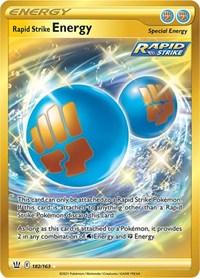 Rapid Strike Energy (Secret), Pokemon, SWSH05: Battle Styles