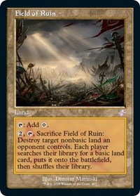 Field of Ruin, Magic: The Gathering, Time Spiral: Remastered