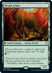 Dryad Arbor, Magic: The Gathering, Time Spiral: Remastered