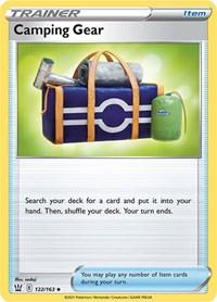 Camping Gear, Pokemon, SWSH05: Battle Styles
