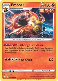 Emboar, Pokemon, SWSH05: Battle Styles