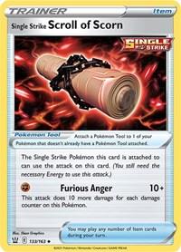 Single Strike Scroll of Scorn, Pokemon, SWSH05: Battle Styles