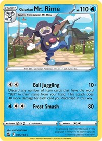Galarian Mr. Rime, Pokemon, SWSH05: Battle Styles