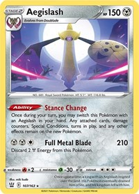 Aegislash (107), Pokemon, SWSH05: Battle Styles