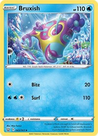 Bruxish, Pokemon, SWSH05: Battle Styles