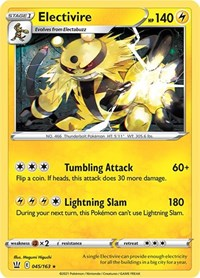 Electivire, Pokemon, SWSH05: Battle Styles