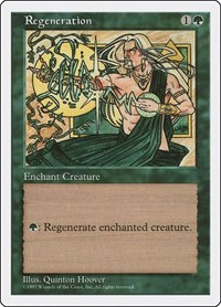 Regeneration, Magic: The Gathering, Fifth Edition