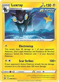Luxray, Pokemon, SWSH05: Battle Styles