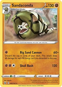 Sandaconda, Pokemon, SWSH05: Battle Styles