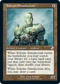 Solemn Simulacrum, Magic: The Gathering, Time Spiral: Remastered