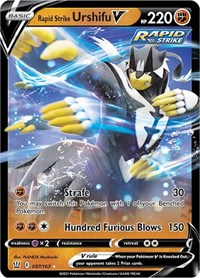 Rapid Strike Urshifu V, Pokemon, SWSH05: Battle Styles
