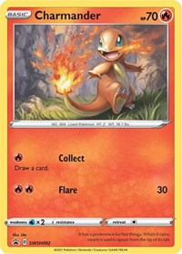 Charmander - SWSH092, Pokemon, SWSH: Sword & Shield Promo Cards