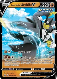 Rapid Strike Urshifu V - SWSH107, Pokemon, SWSH: Sword & Shield Promo Cards