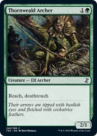 Thornweald Archer, Magic: The Gathering, Time Spiral: Remastered