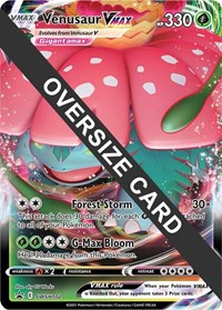 Venusaur VMAX - SWSH102, Pokemon, Jumbo Cards