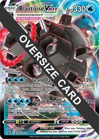 Blastoise VMAX - SWSH103, Pokemon, Jumbo Cards