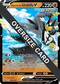 Rapid Strike Urshifu V - SWSH107, Pokemon, Jumbo Cards