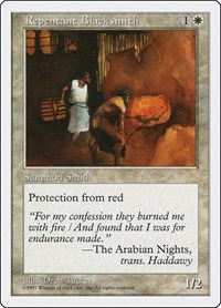 Repentant Blacksmith, Magic: The Gathering, Fifth Edition