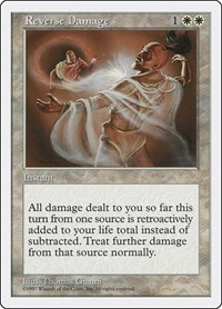 Reverse Damage, Magic: The Gathering, Fifth Edition
