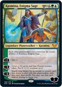 Kasmina, Enigma Sage, Magic: The Gathering, Strixhaven: School of Mages