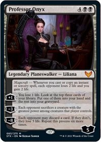 Professor Onyx, Magic: The Gathering, Strixhaven: School of Mages