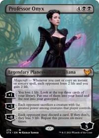 Professor Onyx (Borderless), Magic: The Gathering, Strixhaven: School of Mages