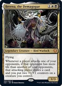 Breena, the Demagogue, Magic: The Gathering, Commander 2021