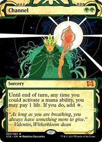 Channel, Magic: The Gathering, Strixhaven: Mystical Archives