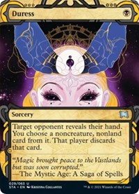 Duress, Magic: The Gathering, Strixhaven: Mystical Archives