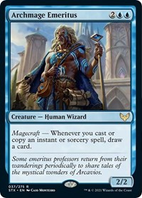 Archmage Emeritus, Magic: The Gathering, Strixhaven: School of Mages