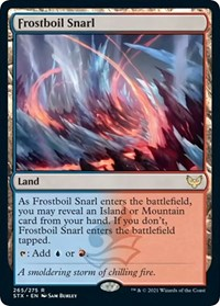 Frostboil Snarl, Magic: The Gathering, Strixhaven: School of Mages