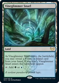 Vineglimmer Snarl, Magic: The Gathering, Strixhaven: School of Mages