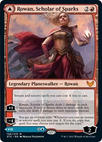 Rowan, Scholar of Sparks, Magic: The Gathering, Strixhaven: School of Mages