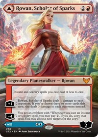 Rowan, Scholar of Sparks (Borderless), Magic: The Gathering, Strixhaven: School of Mages