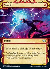 Shock, Magic: The Gathering, Strixhaven: Mystical Archives