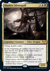 Shadrix Silverquill, Magic: The Gathering, Strixhaven: School of Mages