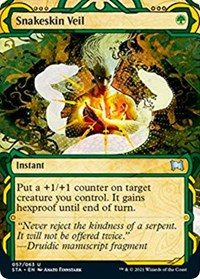 Snakeskin Veil, Magic: The Gathering, Strixhaven: Mystical Archives