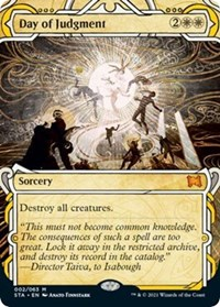 Day of Judgment, Magic: The Gathering, Strixhaven: Mystical Archives