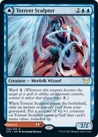 Torrent Sculptor, Magic: The Gathering, Strixhaven: School of Mages