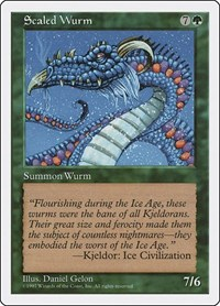 Scaled Wurm, Magic: The Gathering, Fifth Edition