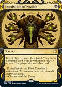 Inquisition of Kozilek, Magic: The Gathering, Strixhaven: Mystical Archives