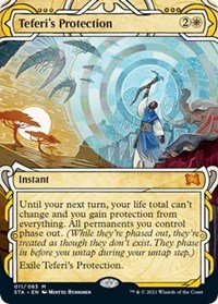Teferi's Protection, Magic: The Gathering, Strixhaven: Mystical Archives