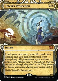 Teferi's Protection (Foil Etched) (Foil)