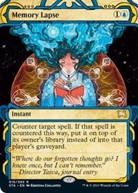 Memory Lapse, Magic: The Gathering, Strixhaven: Mystical Archives