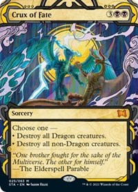 Crux of Fate, Magic: The Gathering, Strixhaven: Mystical Archives