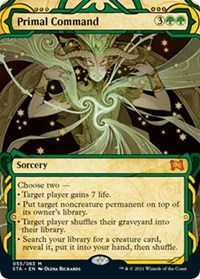 Primal Command, Magic: The Gathering, Strixhaven: Mystical Archives
