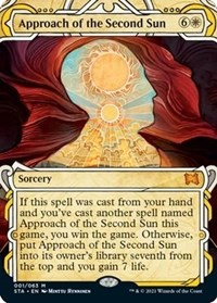 Approach of the Second Sun, Magic: The Gathering, Strixhaven: Mystical Archives